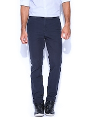 Tommy Hilfiger Men Navy Hudson Straight Fit Chino Trousers