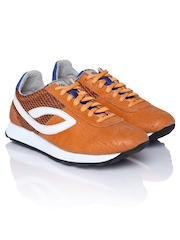Woodland Men Orange Casual Shoes
