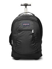 Jansport Unisex Black Driver Trolley Backpack