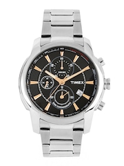 Timex Men Black Dial Watch TW000Y502