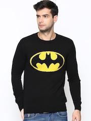 DC Comics Men Black Sweater