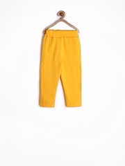 Play by Little Kangaroos Boys Reversible Yellow Track Pants