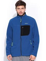Wildcraft Men Blue Fleece Jacket