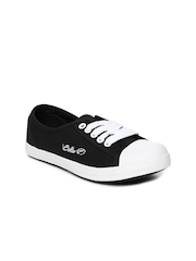 Boltio Women Black Casual Shoes