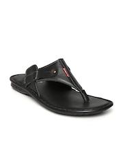 Mancini Men Black Sandals