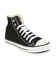 Converse Unisex Black Canvas Shoes