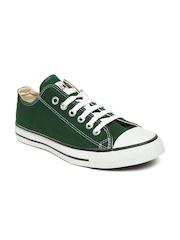 Converse Unisex Green Canvas Shoes