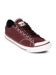 Converse Unisex Maroon Canvas Shoes