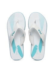 Fila Women White Flip-Flops