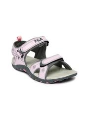 Fila Women Pink & Grey Sports Sandals