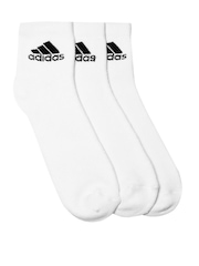 Adidas Men Set of 3 White Sport Socks