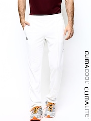 Adidas Men White CRICKET BASIC P Track Pants