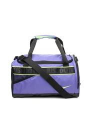 Nike Women Purple Varsity Duffle Bag