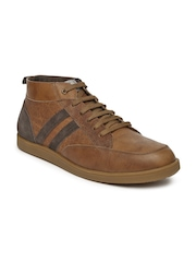 Allen Solly Men Brown Leather Casual Shoes