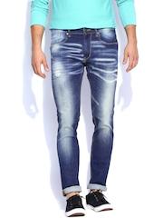 Kook N Keech Marvel Men Dark Blue Jeans