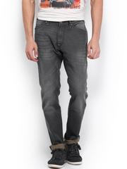 Kook N Keech Marvel Men Charcoal Grey Jeans
