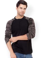 ELABORADO Men Black T-shirt