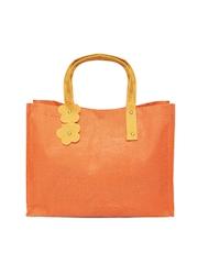 Greenobag Orange Jute Handbag