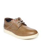 Buckaroo Men Brown Delma Leather Casual Shoes