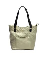 Lavie Muted Gold-Toned Shoulder Bag