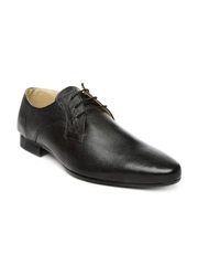 Red Tape Men Black Leather Formal Shoes