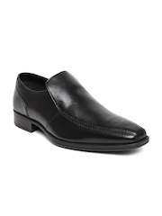 Clarks Men Black Leather Formal Shoes