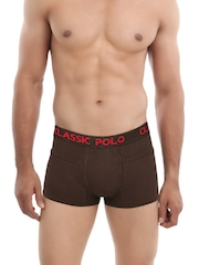Classic Polo Brown Intimo Trunks CPUI
