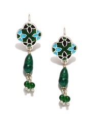 Fabindia Anusuya Silver Drop Earrings
