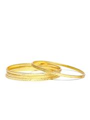 Fabindia Amna Set of 4 Gold-Toned Bangles