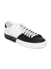 Adidas Originals Men Black & White Matchplay Leather Casual Shoes