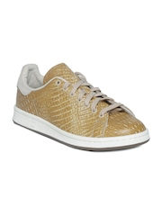 Men Mustard Yellow Stan Smith Leather Casual Shoes Adidas Originals