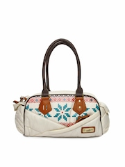 Puma Cream-Coloured Handbag