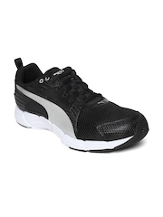 PUMA Men Black Synthesis Running Shoes