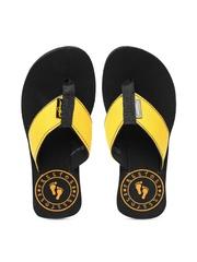 Freetoes Women Yellow Flip-Flops