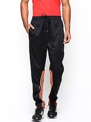 Men Black Track Pants Adidas Originals
