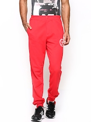 Men Red SY Superstar TP Track Pants Adidas Originals