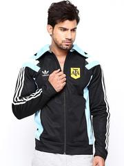 Men Black Argentina TT Sports Jacket Adidas Originals