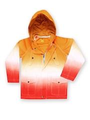 Boys Orange & Red Hooded Jacket UFO 577902