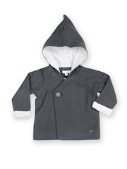French Connection Infant Boys Grey Hooded Jacket