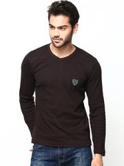 Duke Men Coffee Brown T-shirt