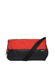 Gear Unisex Red & Black Duffle Bag
