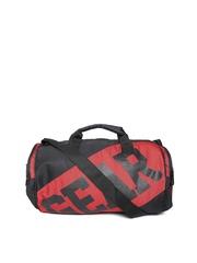 Gear Unisex Black & Red Duffle Bag