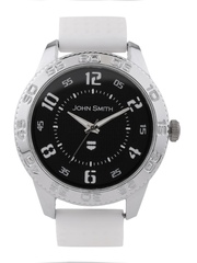 John Smith Men Black Dial Watch JS 10054GRD WH
