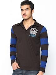 Duke Men Coffee Brown Polo T-Shirt