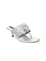 Stylemate Women Silver-Toned Heels
