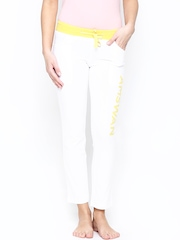 American Swan Women White Track Pants
