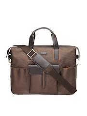 HARVARD Unisex Brown Premuim Legacy Laptop Bag