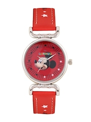 Disney Boys Red Graphic Printed Dial Watch AW100220