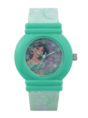 Disney Girls Green Graphic Print Dial Watch SA7514DPS01
