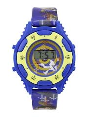Disney Boys Blue Printed Digital Watch TP-1011